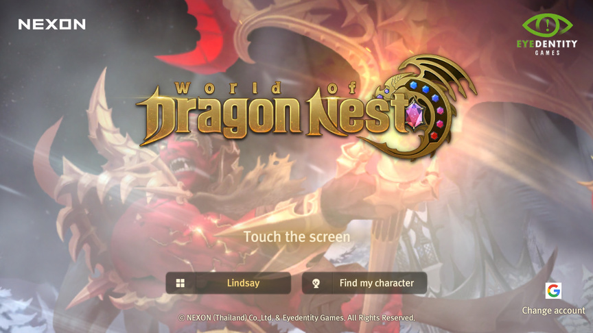 How to play World of Dragon Nest