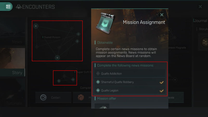 Eve Echoes Story Missions Rewards and Difficulty