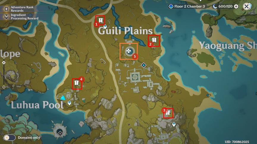 Genshin Impact Treasure Lost, Treasure Found Enter the ruin and search for a strange jade plate