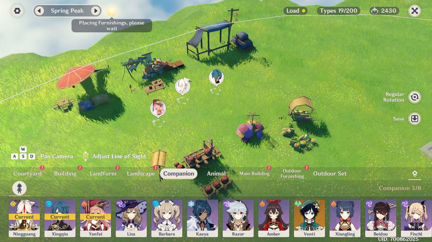 Genshin Impact Serenitea pot Companion Update 1.6