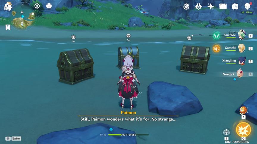 Genshin Impact Broken Island Puzzle