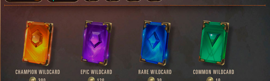 Legends of Runeterra How to Use Wildcard