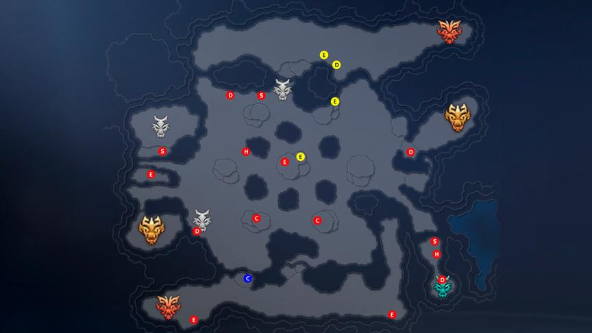 Secret Peak Guide Location of chests, resources