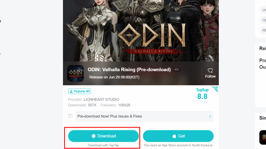 Odin Valhalla Rising How to install on an emulator