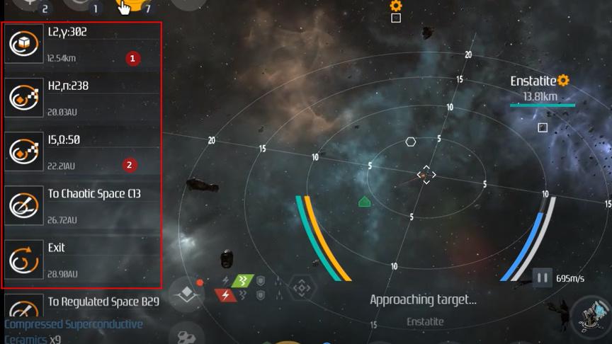 Second Galaxy Wormhole