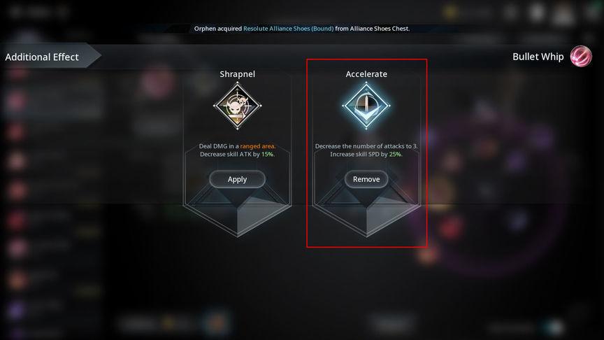 V4 Build skill of the class Gunslinger