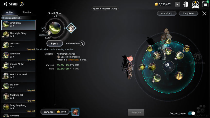 V4 Build skill of the class Boomblade