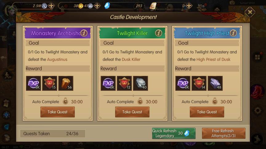 Guild Contribution